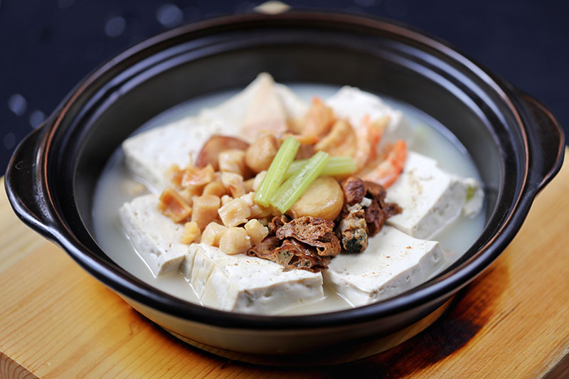 老火海味豆腐煲