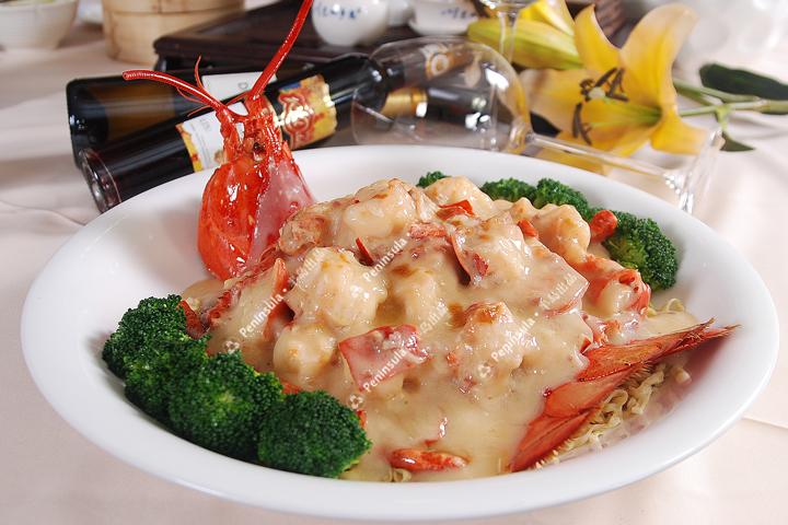 法式焗波士顿龙虾